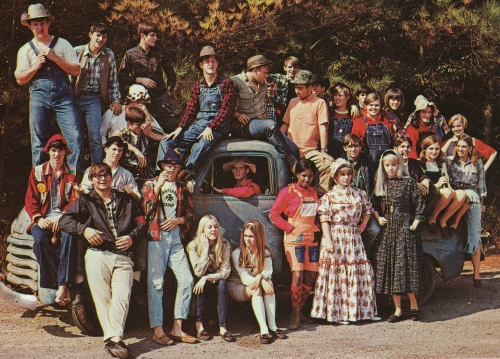 MOUNTIE DAY AT SHADES VALLEY WAS OUR HOMECOMING. CAN YOU BELIEVE THEY CALLED US REDNECKS?(Click to enlarge.)